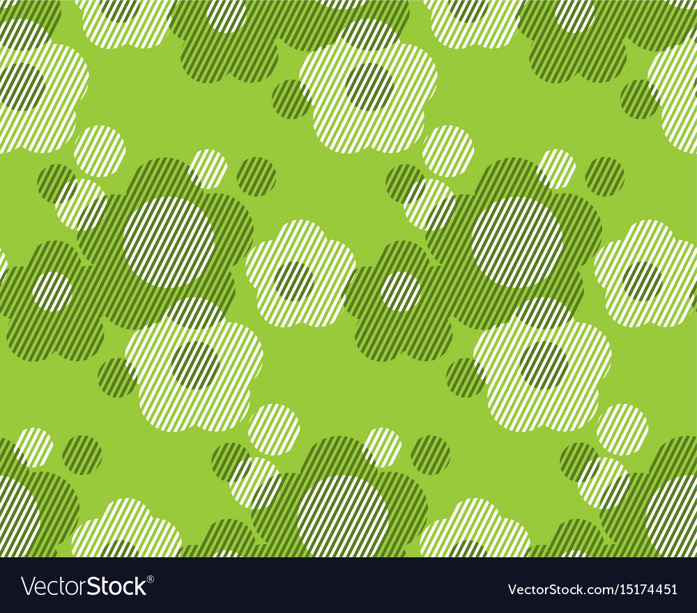 Green and white flower minimalist style