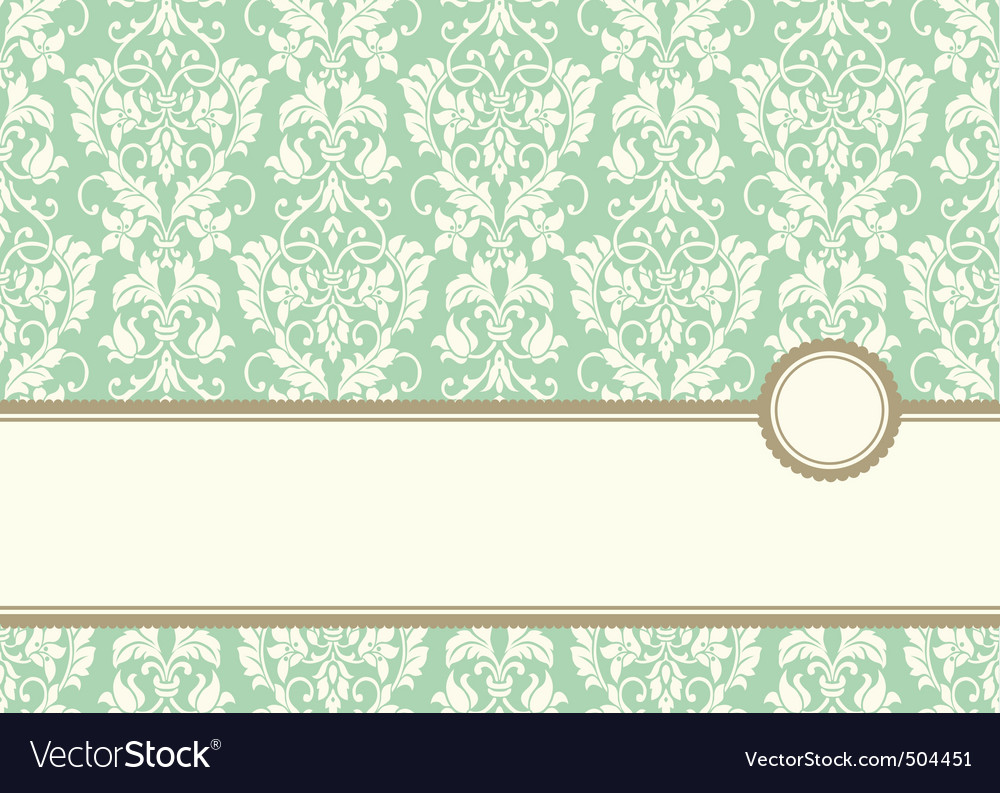 Pastel banner frame and background