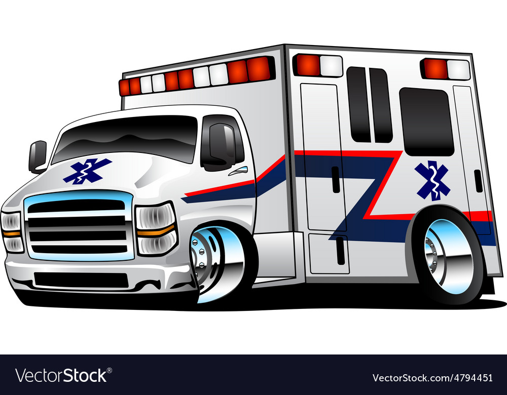 White Paramedic Ambulance Rescue