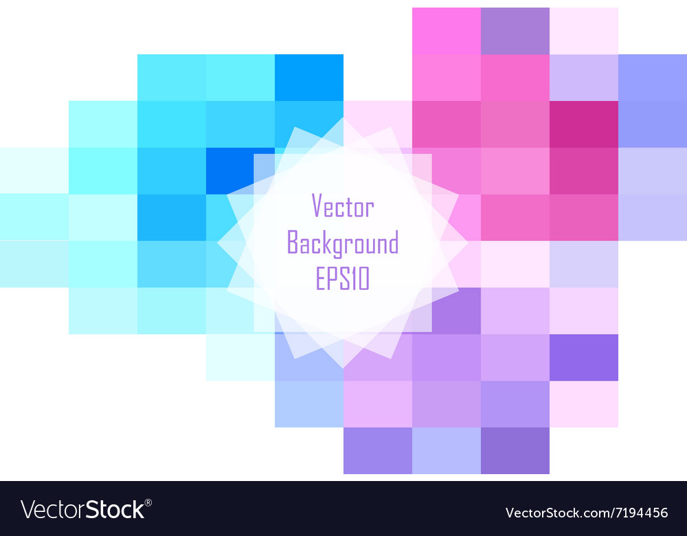 Abstract colorful rectangular background design