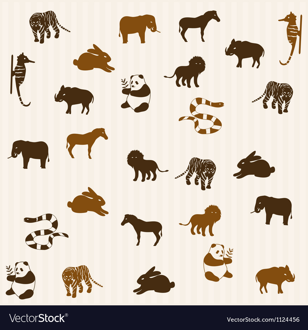 Animal seamless pattern 3