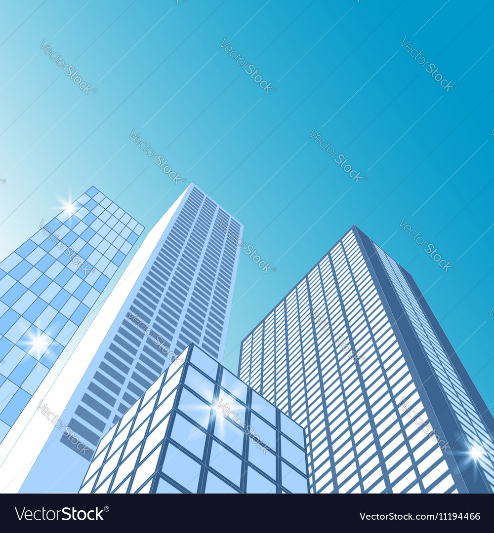 Modern cityscape City skyline
