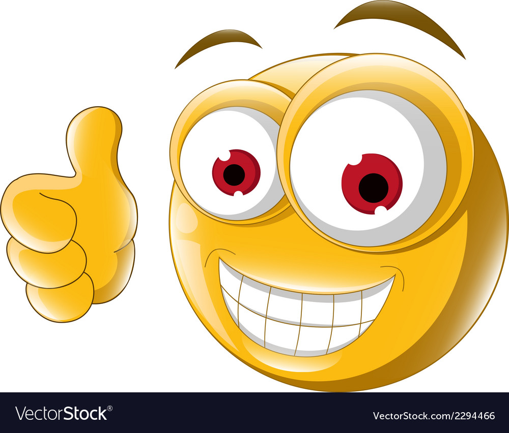 Thumb up emoticon for you design