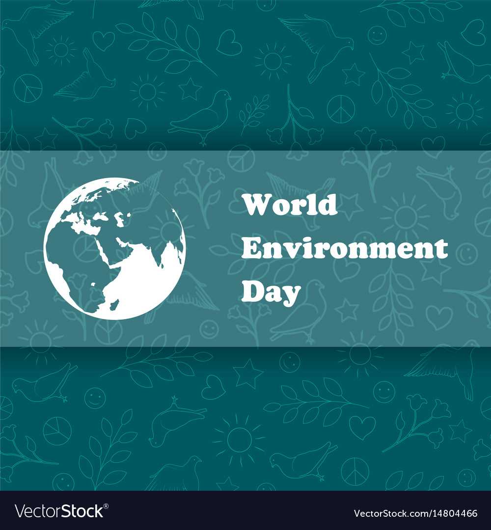 World environment day ecology background