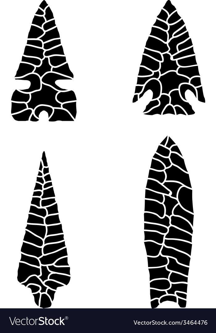 Arrowhead Royalty Free Vector Image - VectorStock