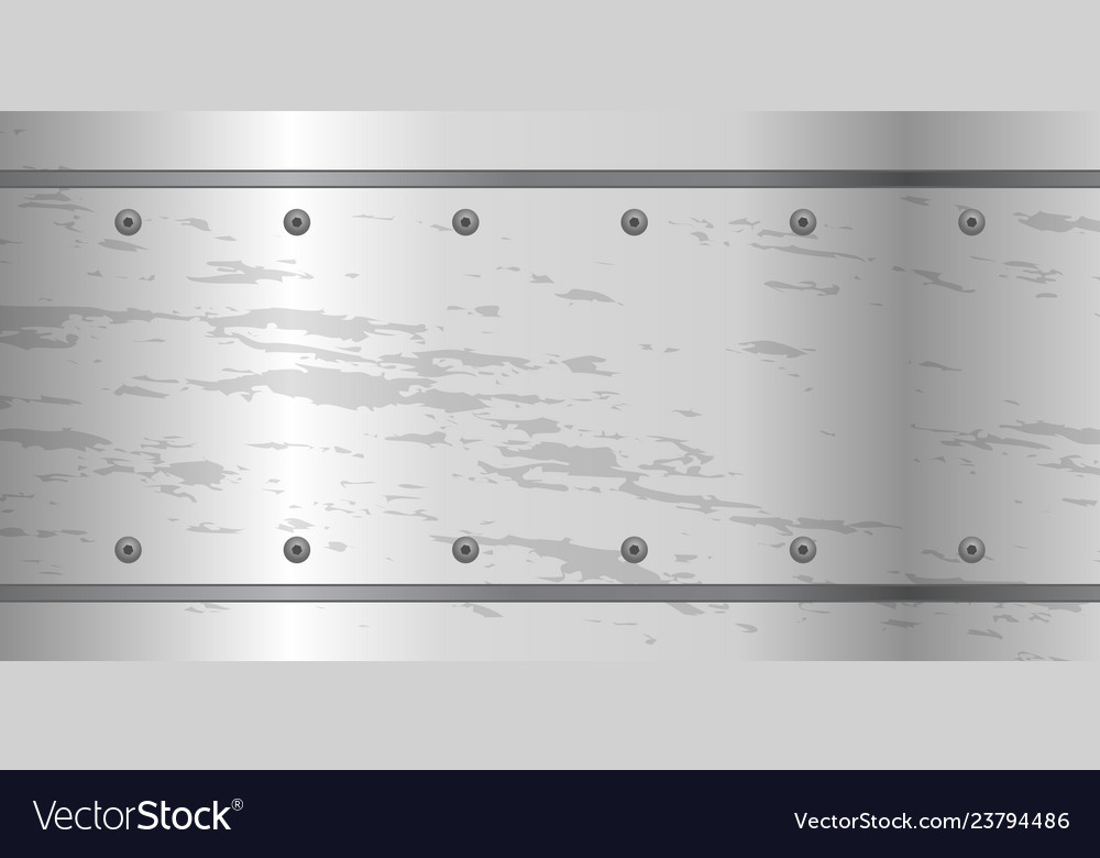 Abstract metal background with screws steel plate
