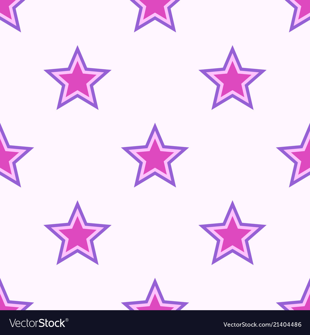 Abstract seamless stars pattern