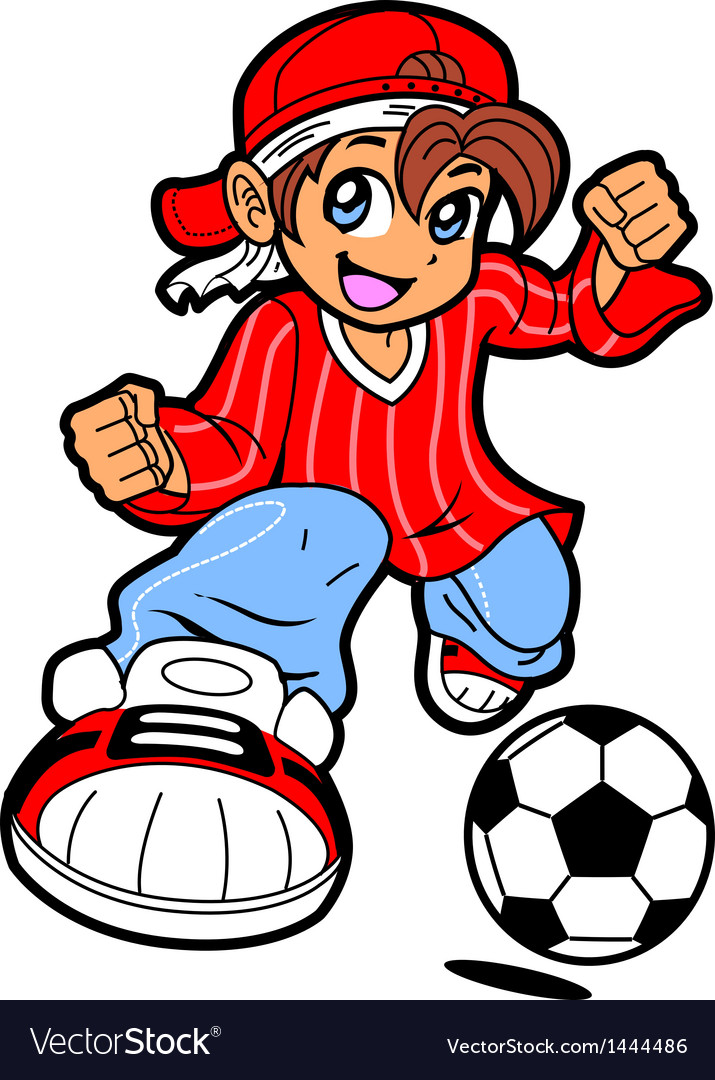 Anime Manga Soccer Player