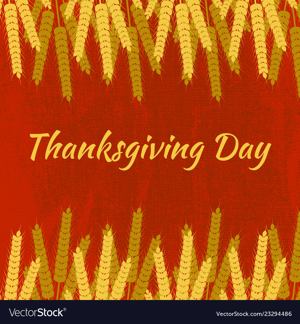 Thanksgiving day in canada wheat sheaves name of