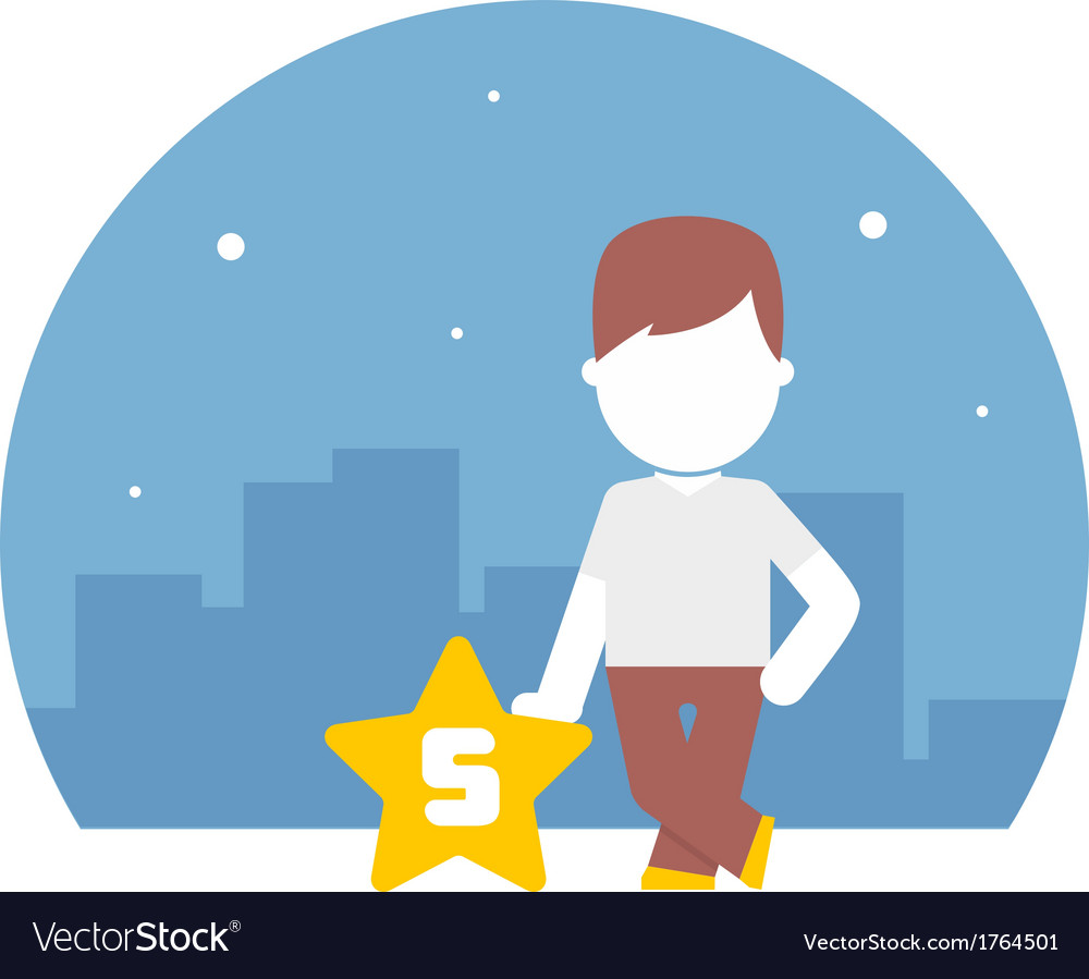 Man have rated a five-star scale by content