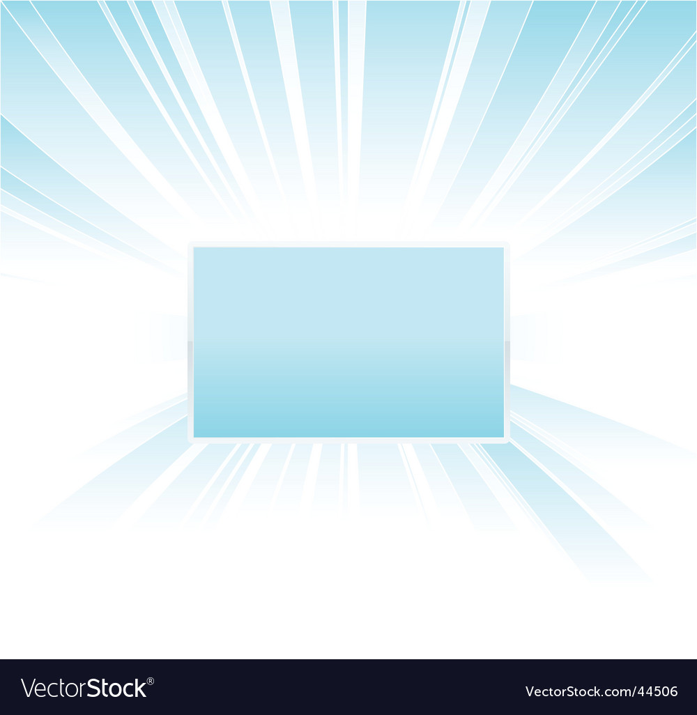 Shiny glowing board design vector image