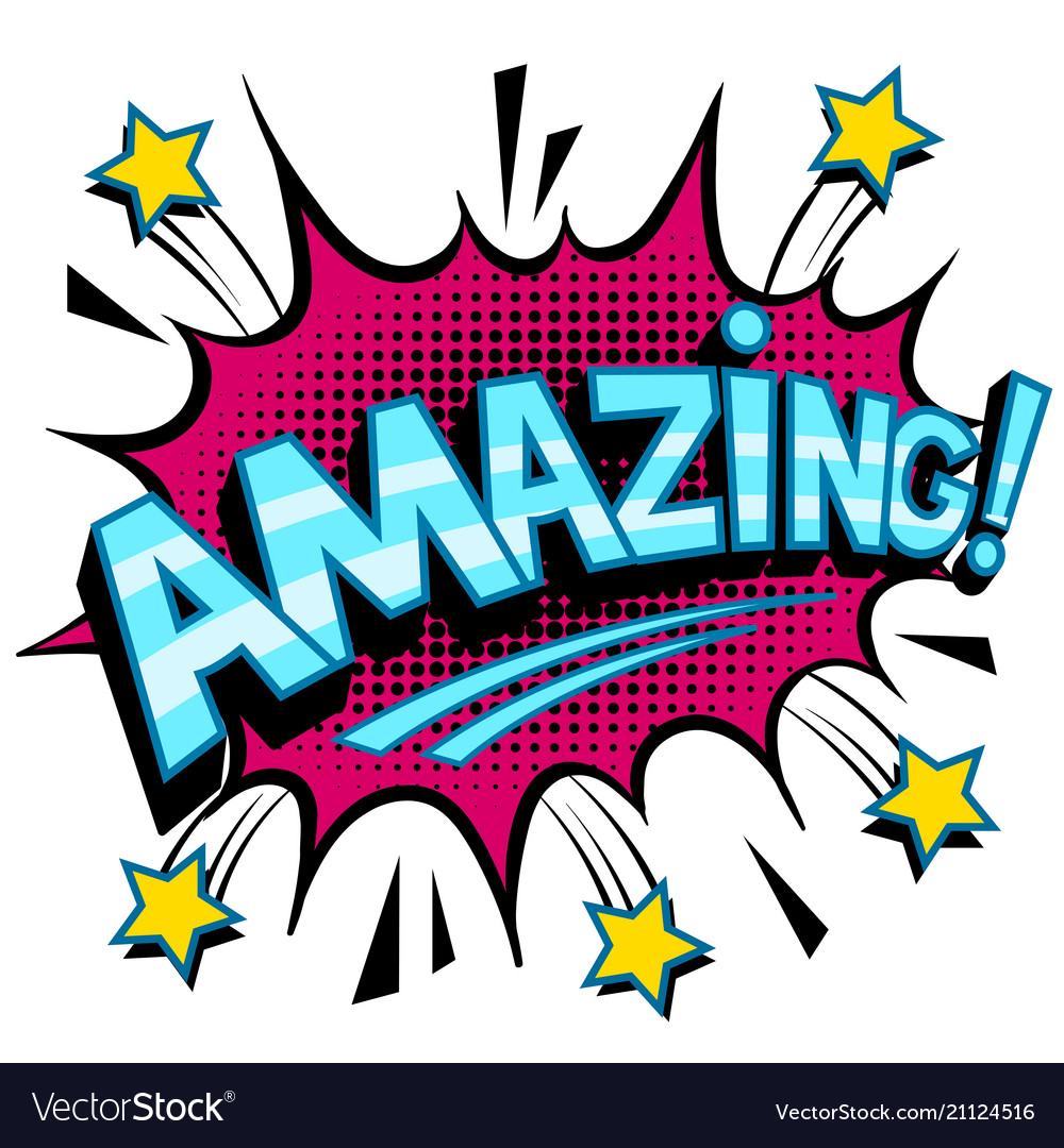 amazing-word-comic-book-pop-art-vector-21124516 Best Of Comic Book Pop Art @koolgadgetz.com.info