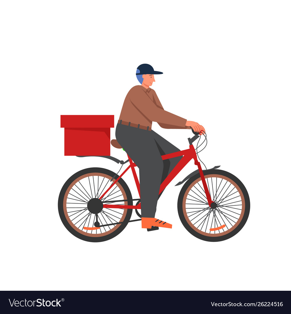 Bicycle food delivery services flat
