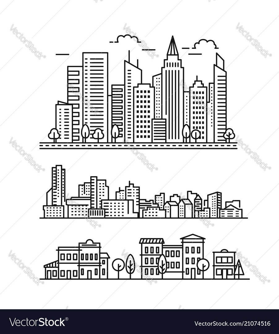City landscape pattern