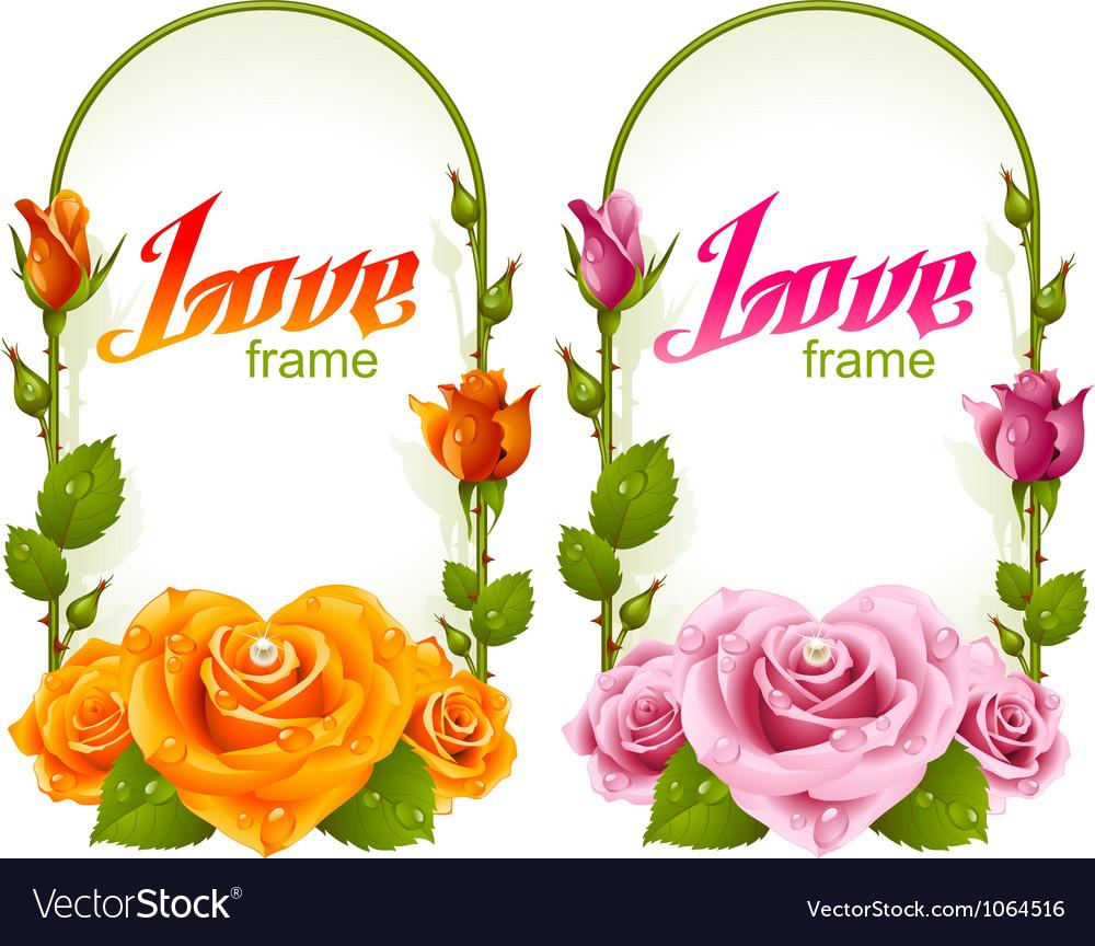 Rose frames