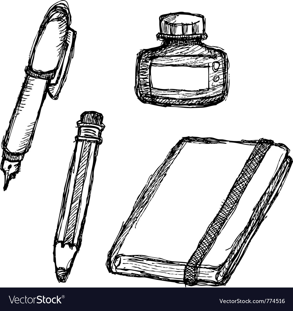 Scribble series - stationery