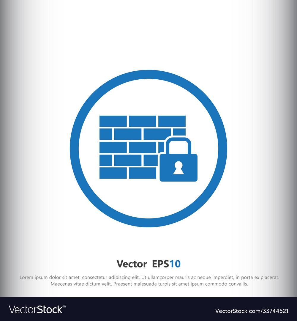 Locked wall icon sign icon wall symbol