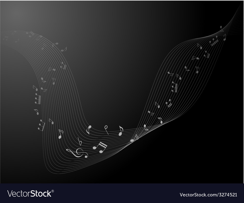 Music notes for design use