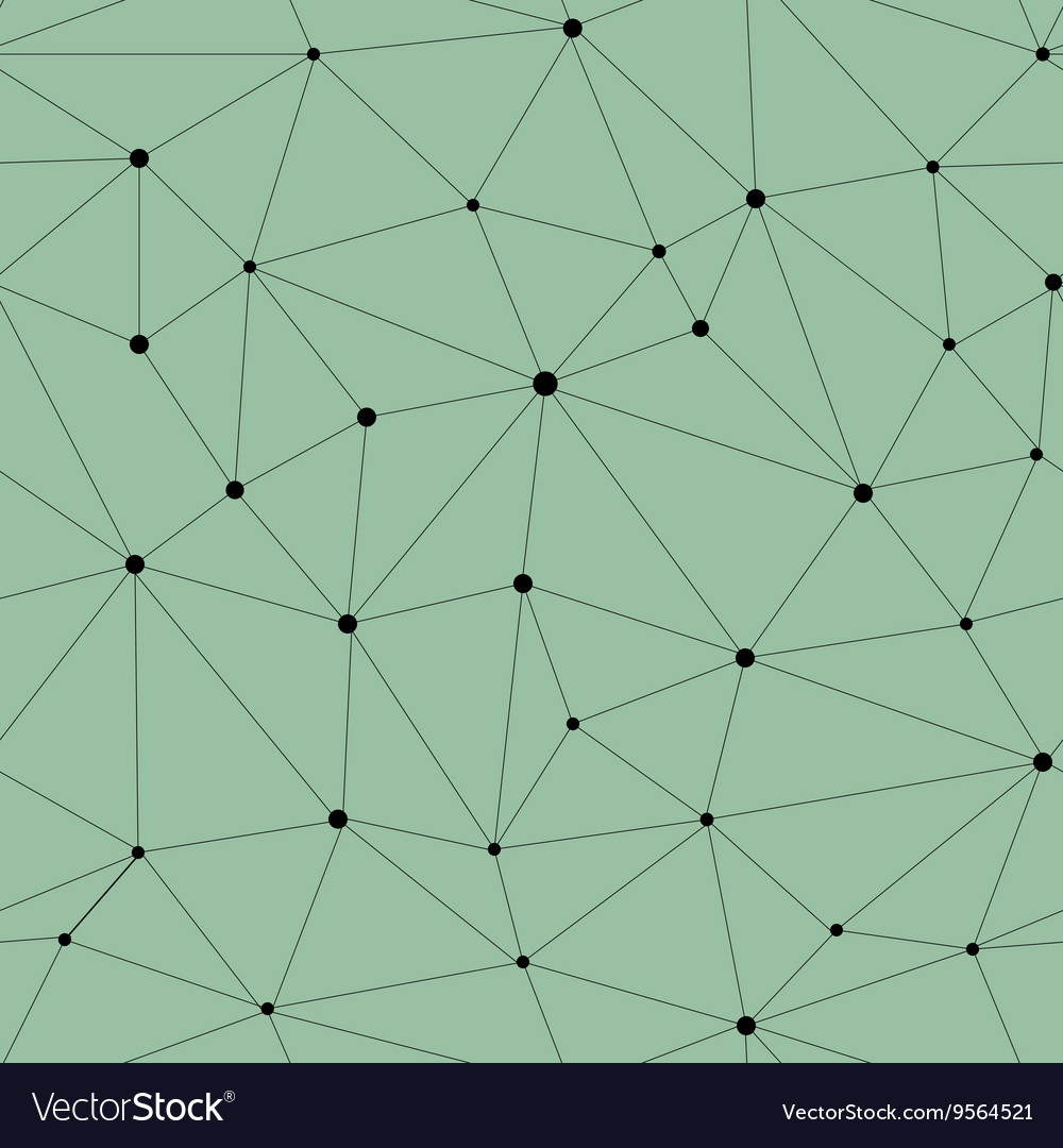 Network seamless pattern vector image
