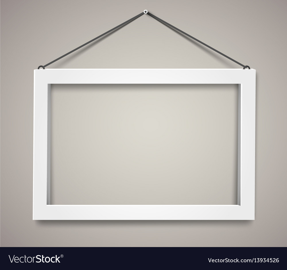 3d picture frame design for a4 image or