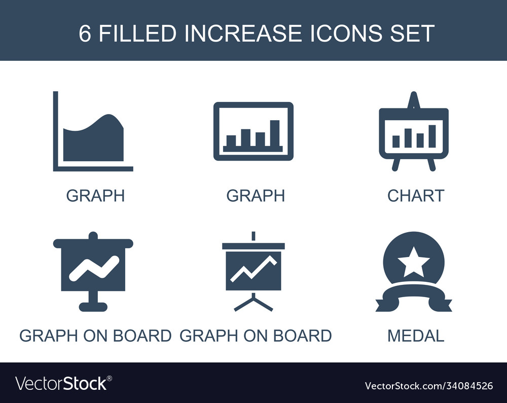 6 increase icons