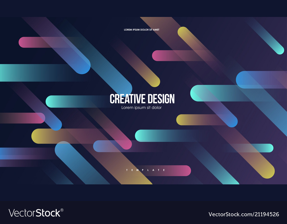 Colorful geometric background minimal abstract