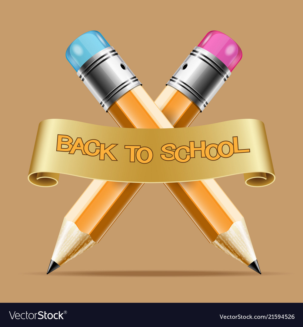 Concept icon back to school inscription on the
