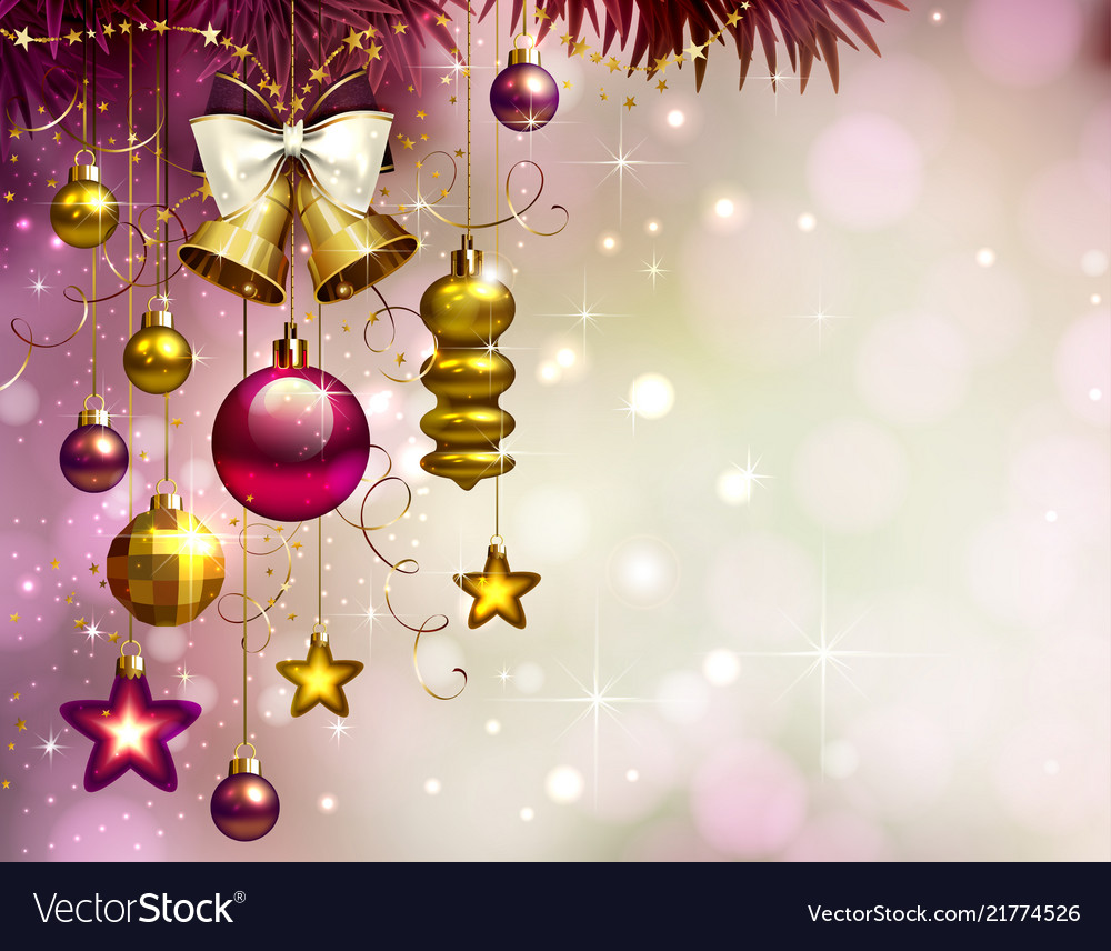 Christmas Background Images Gold.Holiday Christmas Background With Gold Evening