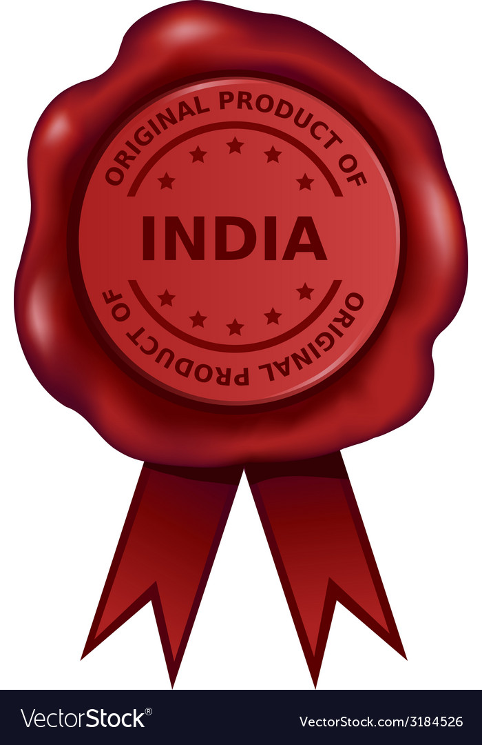 Product Of India Wax Seal