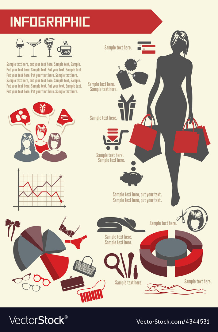 Infographic shoping resize