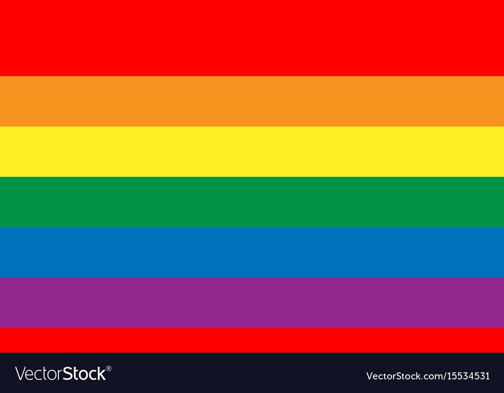 Lesbian gay bisexual and transgender flag