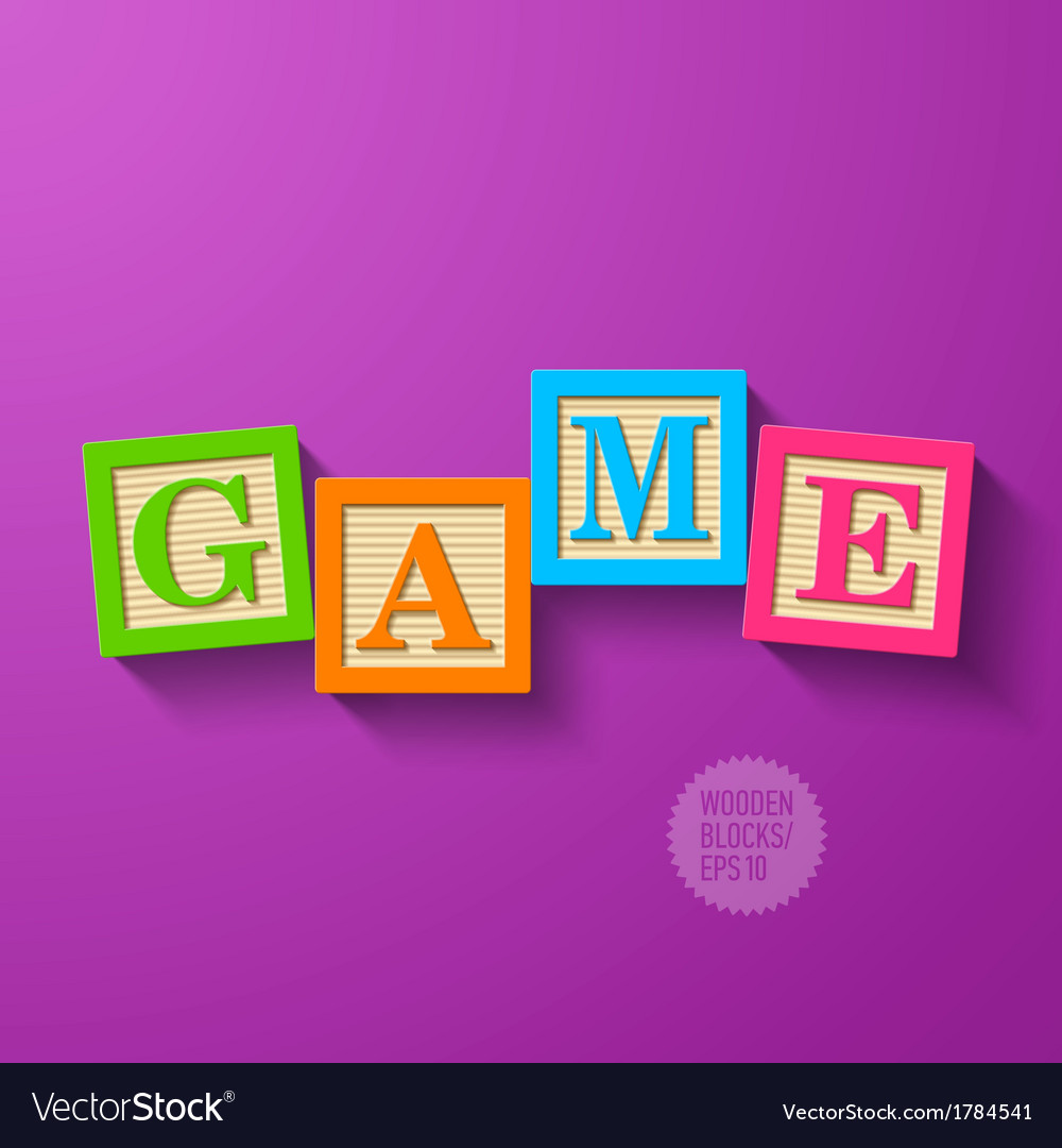 Game vector image