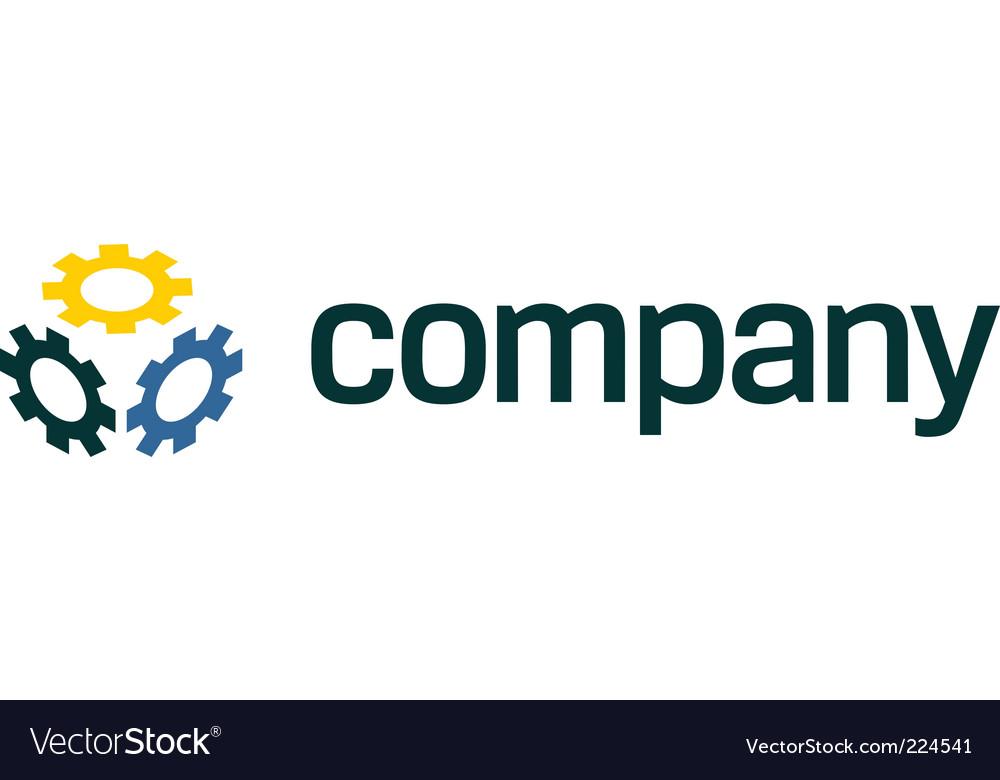 Gear logo for service company