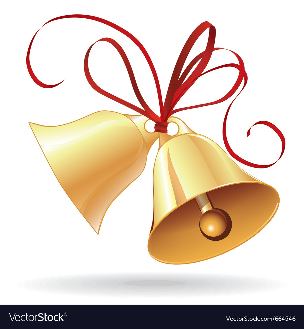 Christmas Or Wedding Bells Royalty Free Vector Image