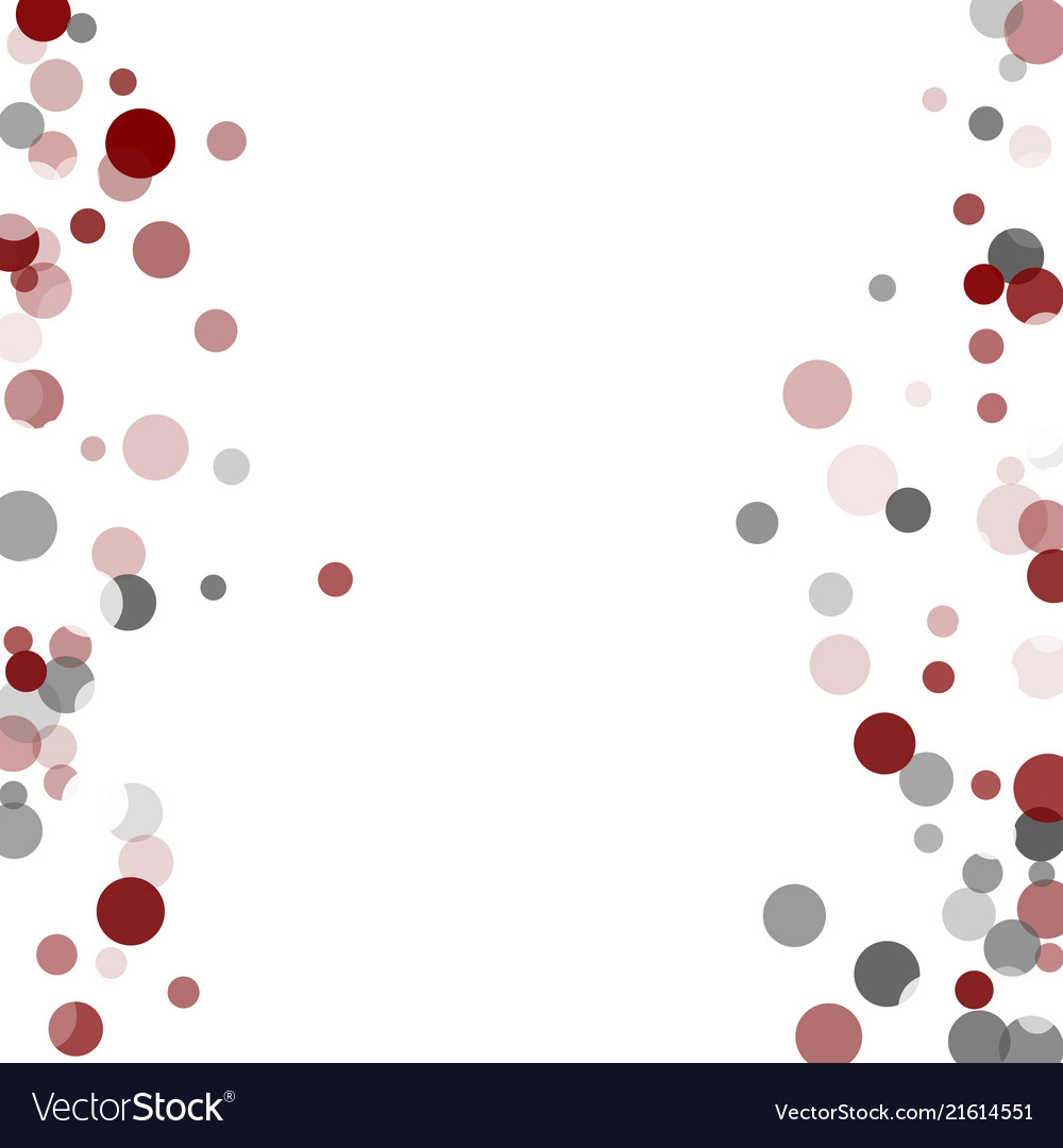 Abstract confetti transparent dots