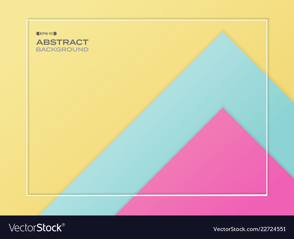 Abstract of blue pink and yellow gradient paper