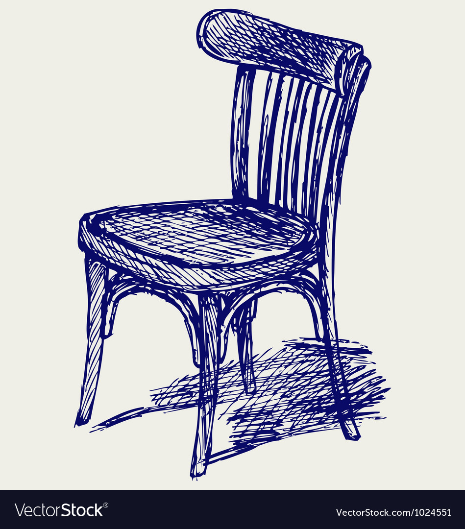 Chair classic vector image