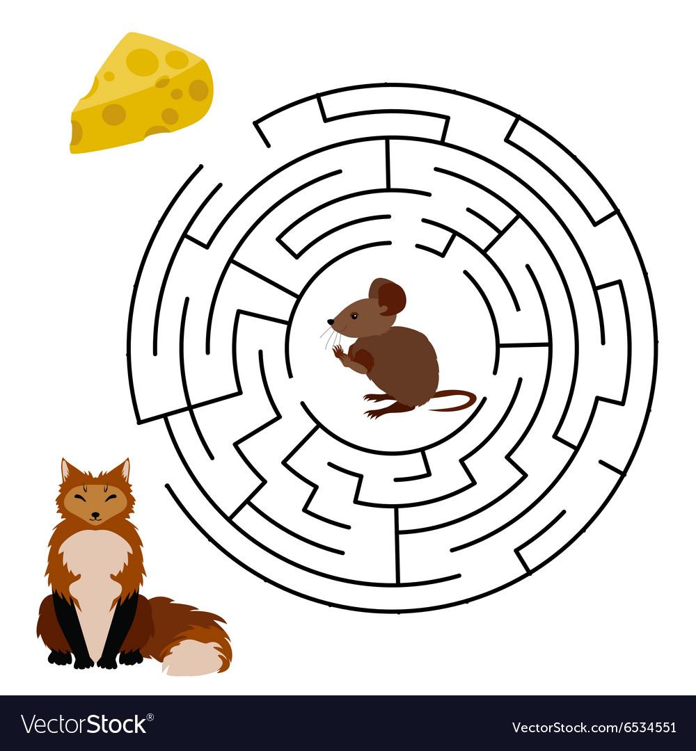 Maze Labyrinth education Game
