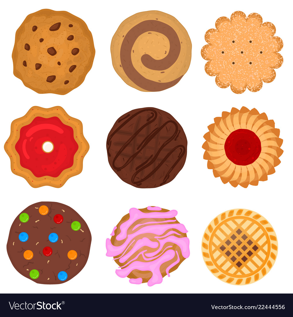 Cookies Cartoon House Cookies