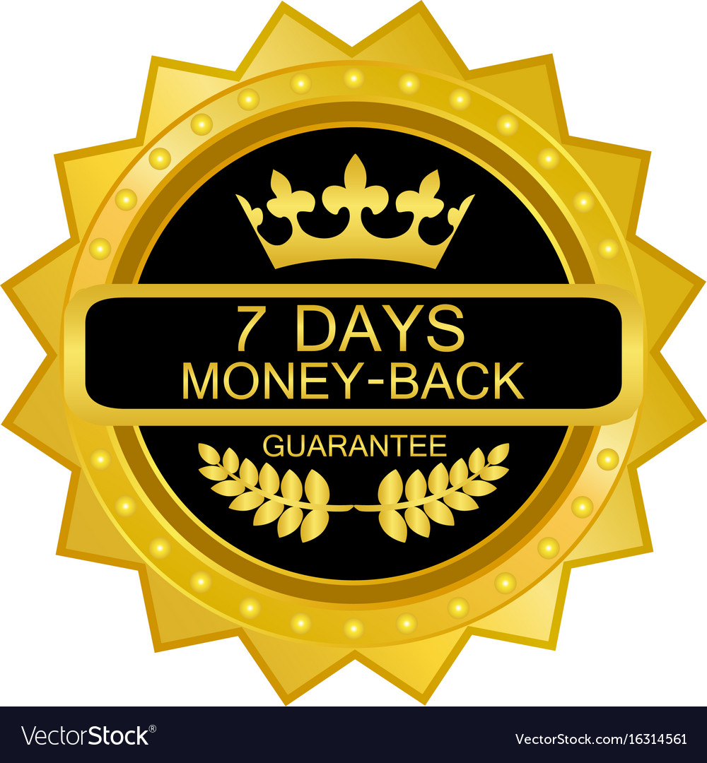 Seven days money back icon
