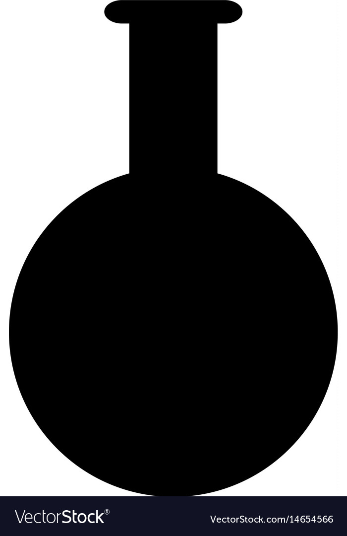 Test tube laboratory school study pictogram vector image