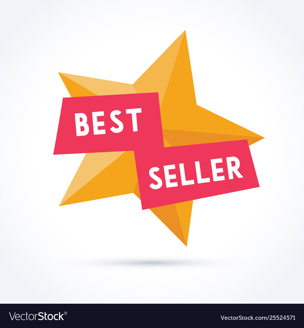 Best seller with star