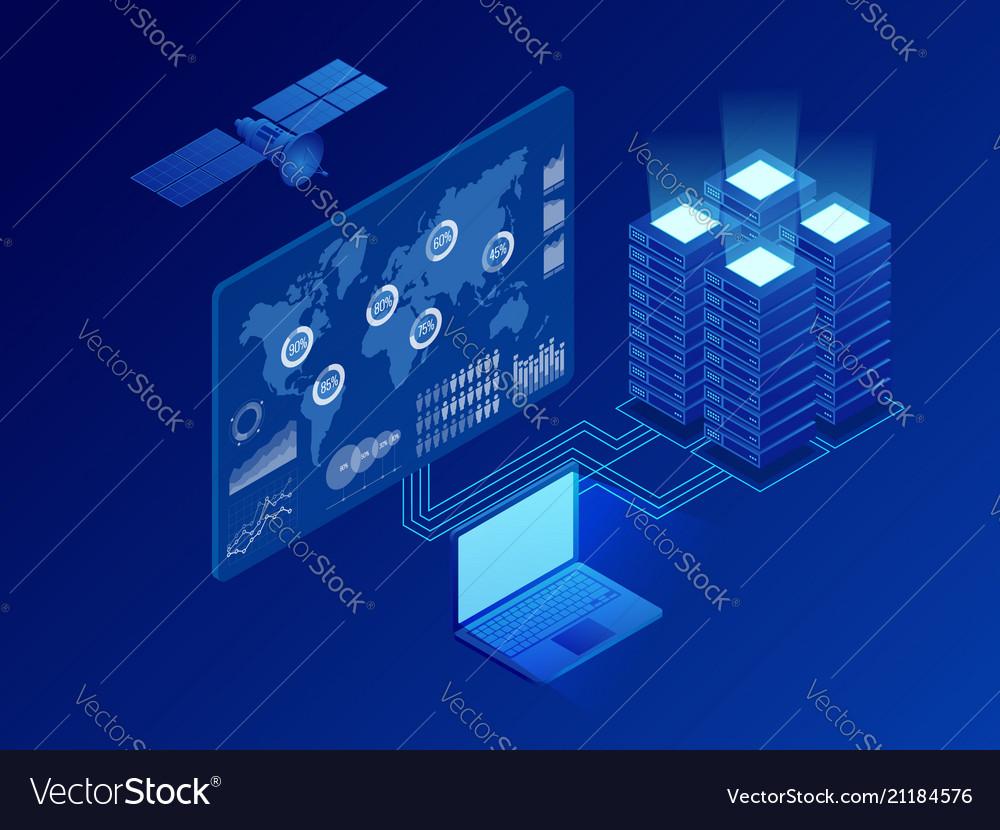 Isometric global information digital network big