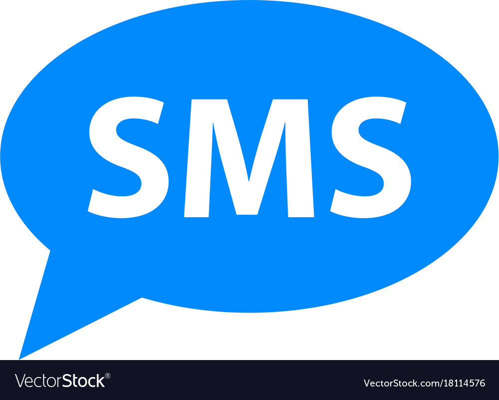 Sms icon simple