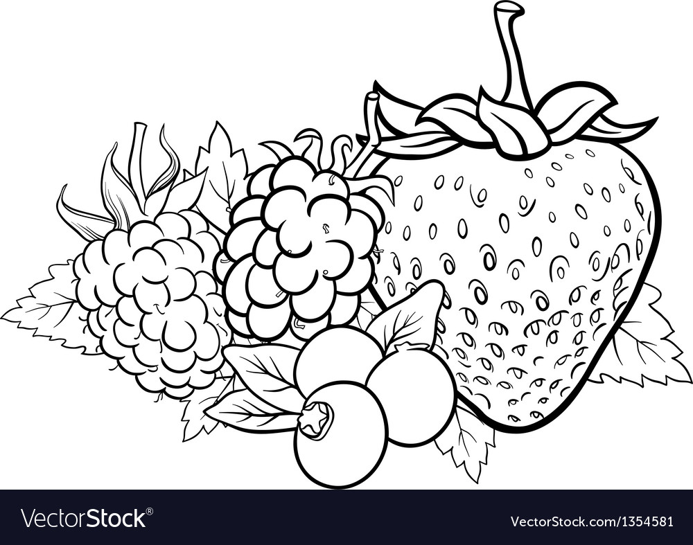 4000 Fruits For Coloring Book Free Images