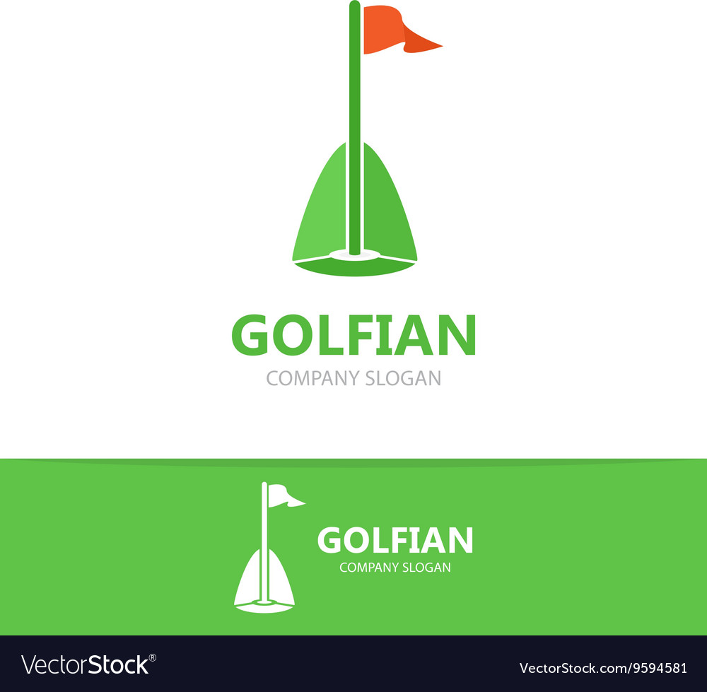 Golf club logo teamplate vector image