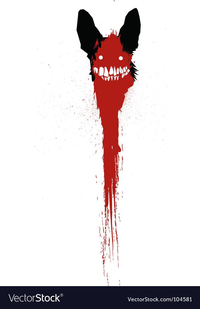 Horror vector image