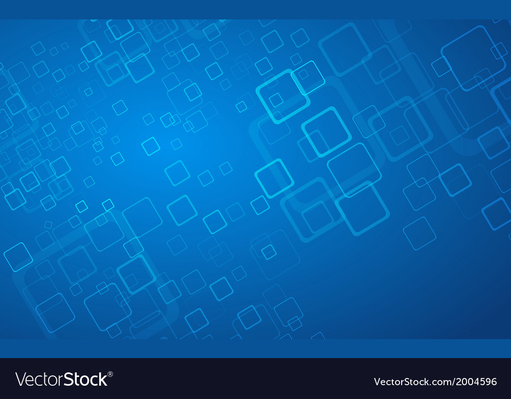 Abstract Blue Hi-tech Background Royalty Free Vector Image