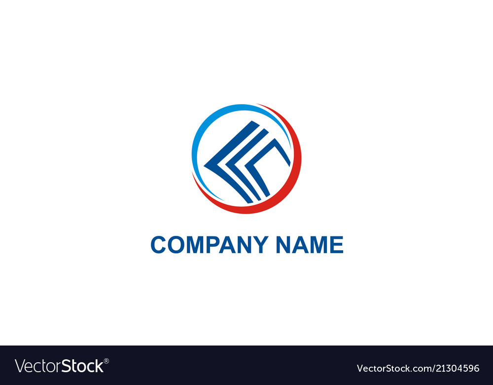 Business finance paper company logo