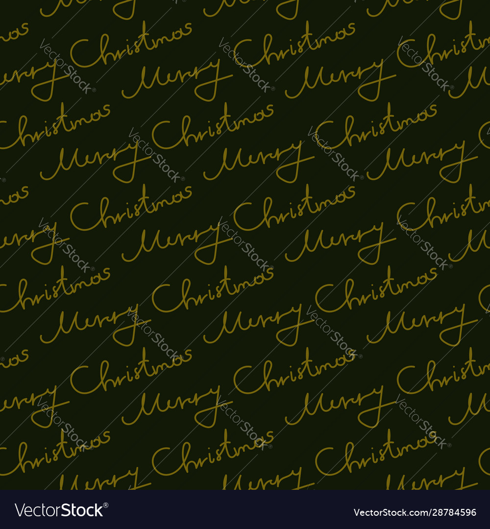 Christmas seamless pattern lettering color